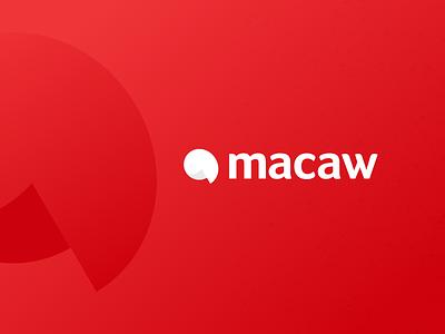 we're macaw design parrot logo macaw minimal design agency product design logo