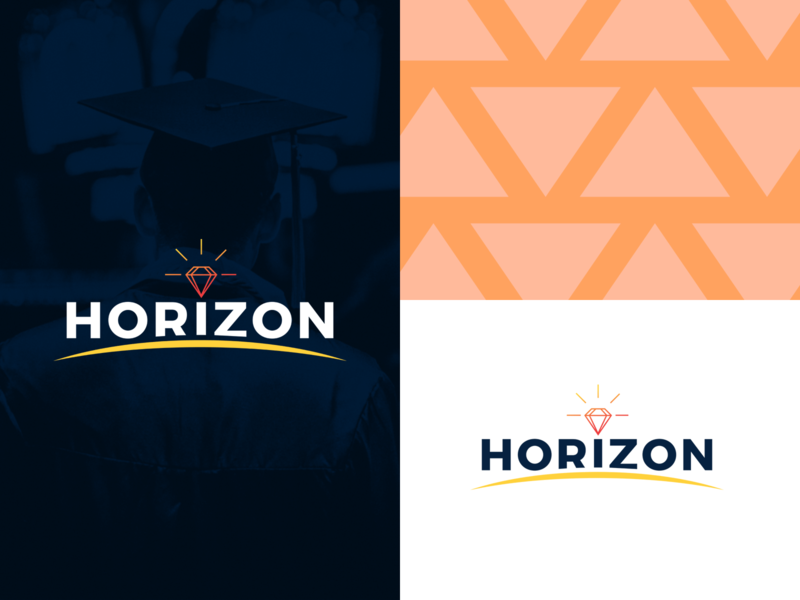 Horizon ENCGT Branding vector design logo branding