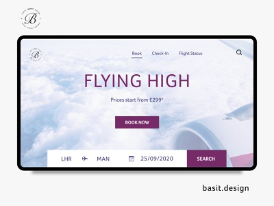 Flight Booking Landing Page product design web design behance ui design ux design user experience user interface airline app airline flight booking ecommerce userinterface adobe xd daily ui app design app design website ui ux