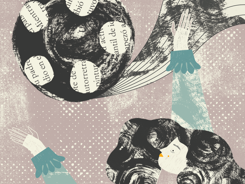 Mexican women who've made history: Cándida Beltrán digital 2d art direction illustration editorial illustration