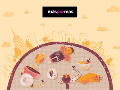 Brindar por las vendimias | A toast to the harvests