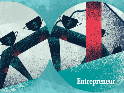 Editorial illustration for Entrepreneur magazine. digital 2d art direction editorial illustration illustration