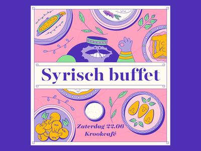 Krookcafé - Syrian Buffet