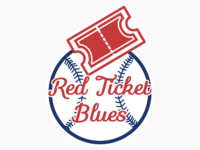 Red Ticket Blues Logo