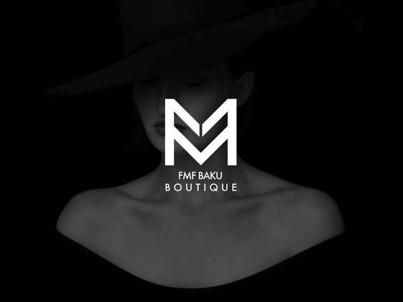 FMF Boutique Logo icon logo design illustration branding