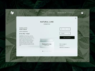 E-Commerce Shop (Single Item) for #DailyUI (012)