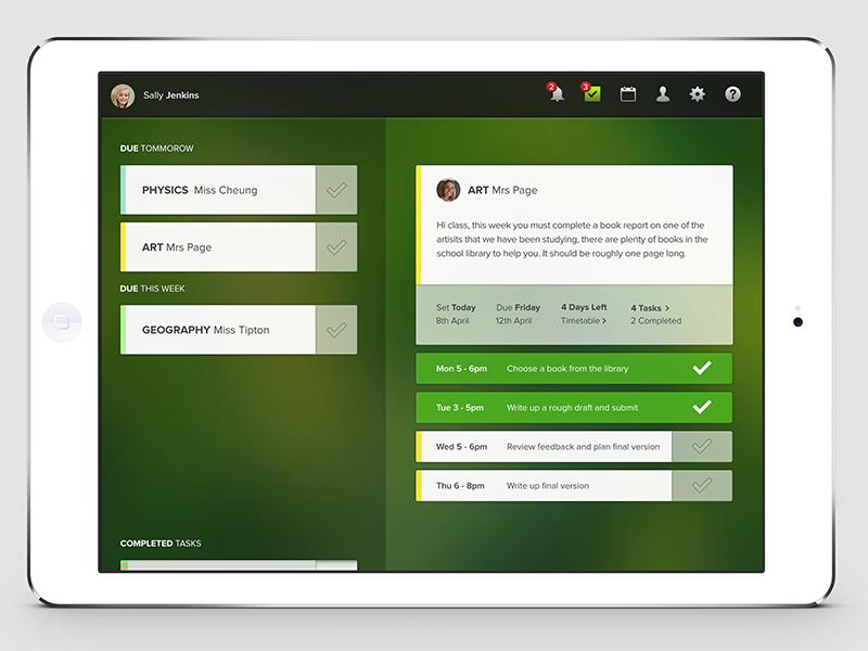 Primus Planner App ipad app primus planner student tool organize ios
