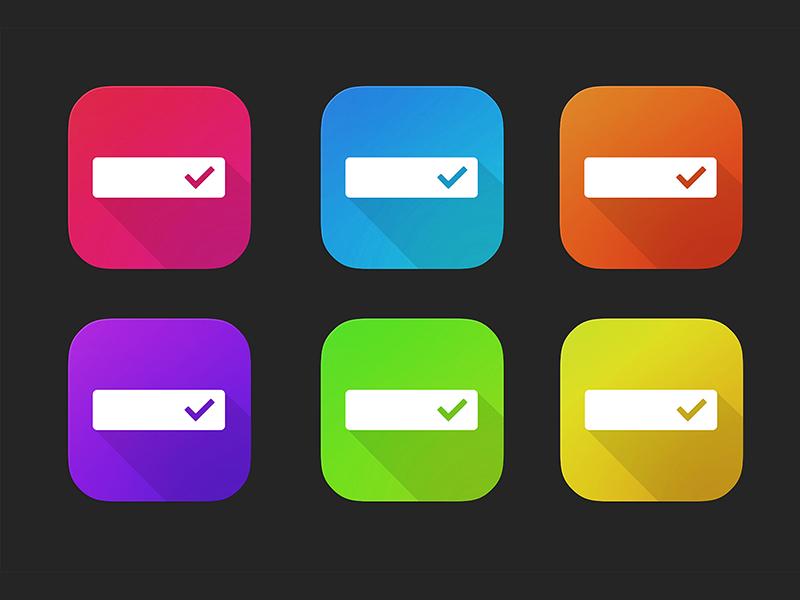 Primus Planner App Icons ios primus planner ipad iphone icon colour color shadow
