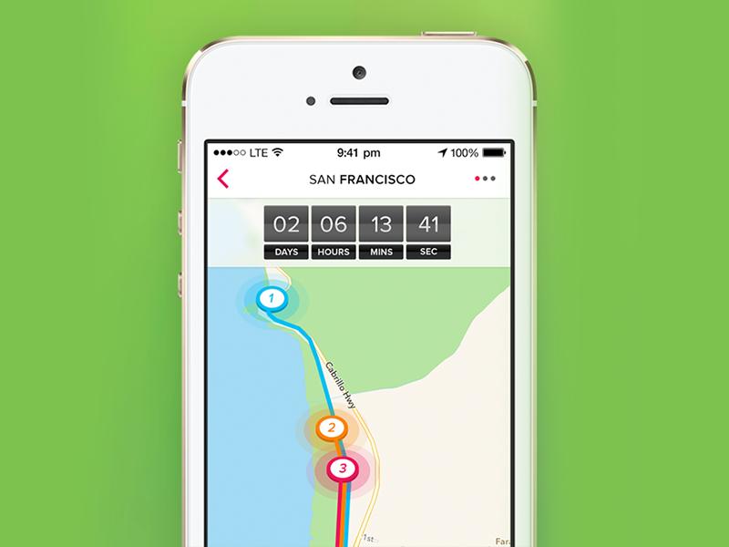Race Tracker App