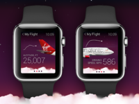 Apple Watch + Virgin Atlantic