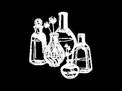 Inktober Day 18 - Bottle