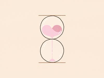 love + time kyles brushes photoshop flat illustration 2d