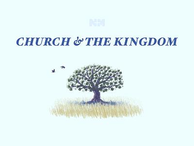 Church & the Kingdom psd illustration nmcc church banner 2d