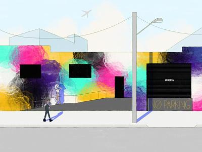 artistic districts 2d animation illustration procreate 2d