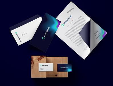 Dashtyaran Brand Identity minimal branding stationary brand identity brand
