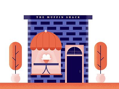 The Muffin Shack shop building food restaraunt shack muffin