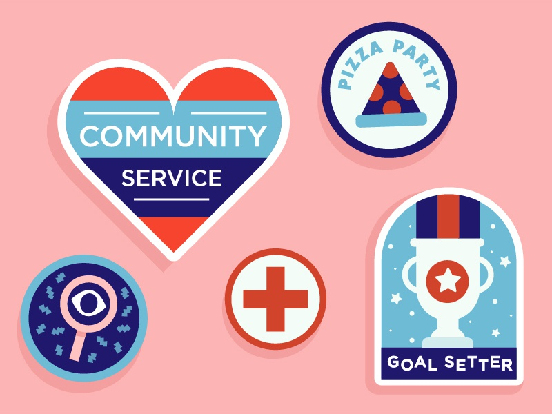 Girl Scout Patches by Brittany Kolar on Dribbble