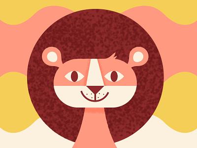 Lion Friend joy happy lion animal