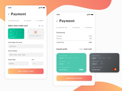Credit Card Checkout   /Daily Ui 002