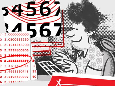 Websites web design branding typography halftone bitmap editorial illustration messy type lettermatic fonts numbers brushes procreate grayscale character character design