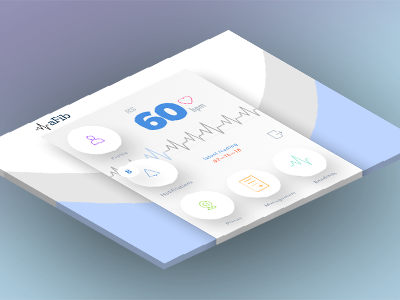 aFib app navigation