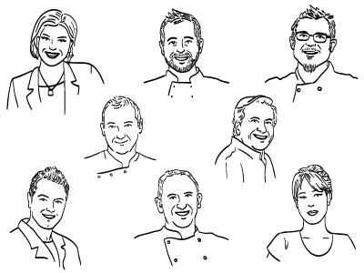 Chef portraits