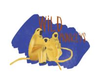 Wild monkeys