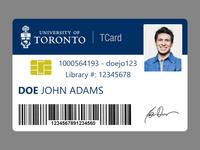 University of Toronto TCard
