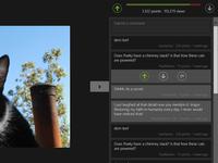Imgur - Metro app comments