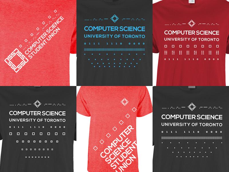 Computer Science Student Union shirts logo clothing shirt