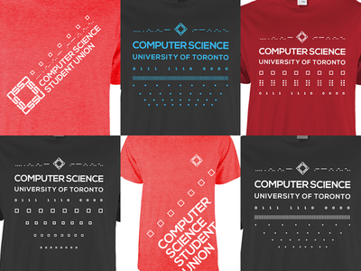 Computer Science Student Union shirts logo clothing shirt