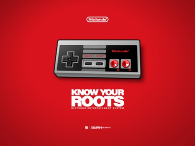 Know Your Roots graphic design vector nintendo know your roots adobe illustrator jp nunez