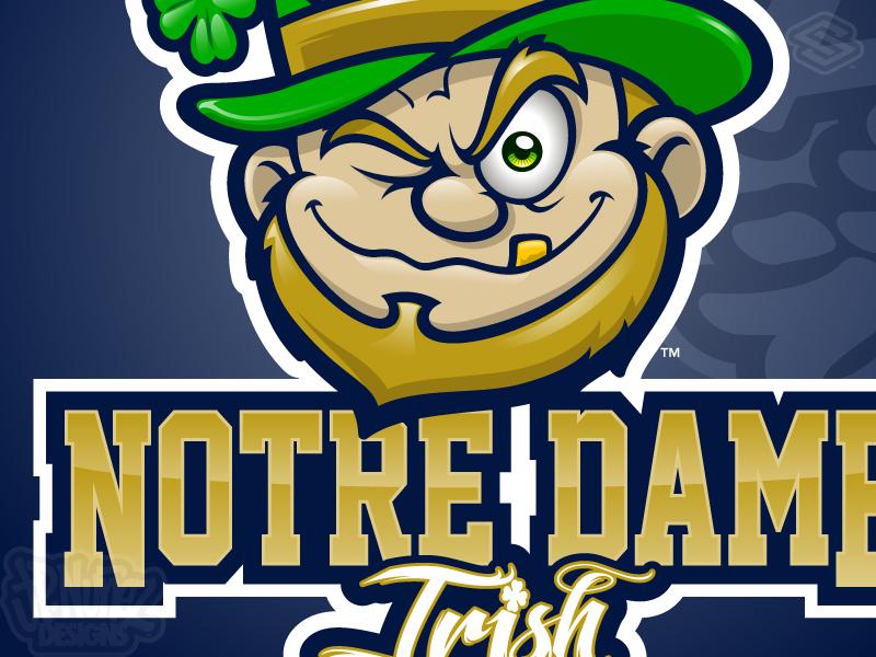 Notre Dame Irish by JP Nunez on Dribbble