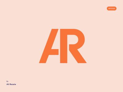 AR - personal logo for myself design monogram logo deisgn personal personal branding logo personal logo personal brand