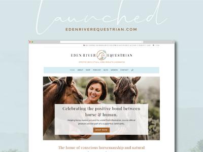 E-commerce + Blog + Podcast Website Design