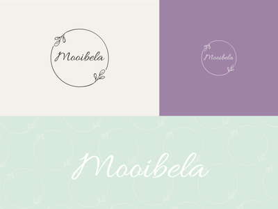 Mooibela logo logotype logodesign flat typography ux ui illustration branding creative  design vector logo design