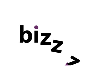 bizzz illustrator blackletter blackandwhite falling icon logo ux ui typography branding vector flat animation photoshop illustration design creativity creative  design