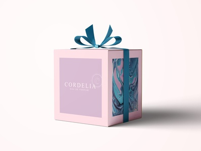 Cordelia perfume package packaging package design package brand perfume identity design identity branding identity ux ui icon branding typography logo vector photoshop illustration design creativity creative  design