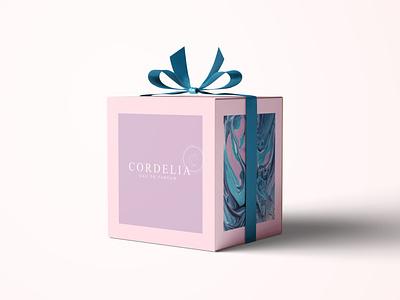 Cordelia perfume package packaging package design package brand perfume identity design identity branding identity ux ui icon branding typography logo vector photoshop illustration design creativity creative  design