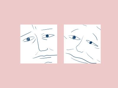 Das you icon faces face logo face expression pink characterdesign character face design photoshop figurative illustration creativity creative  design
