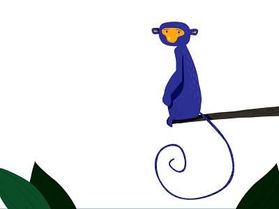 Monkey monkey king nature character design character jungle animal illustration animal monkey island monkey logo monkey figurative animation vector icon figure photoshop illustration design creativity creative  design