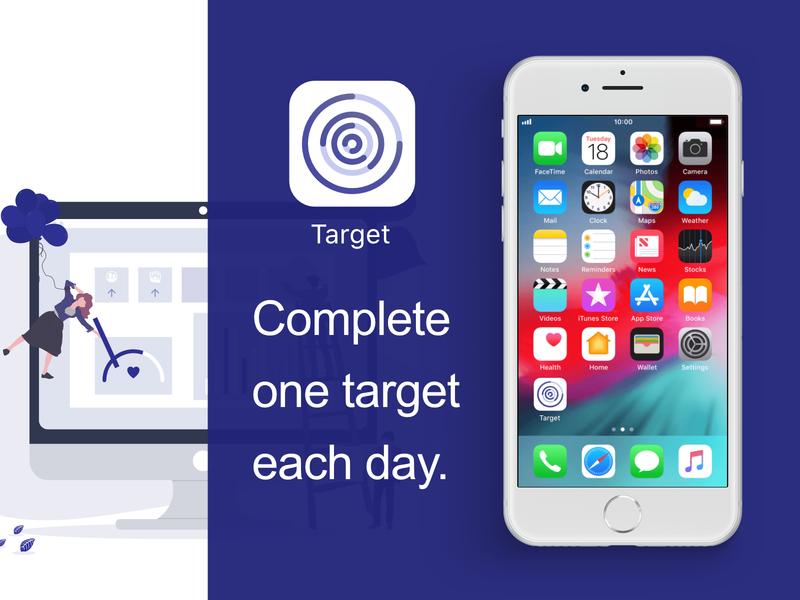 DailyUI005-Target APP