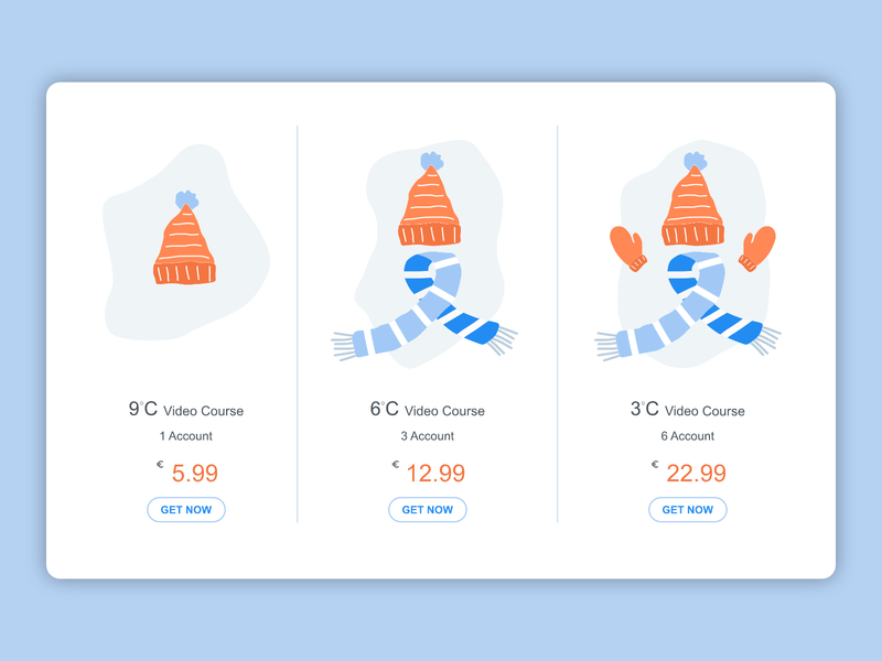 DailyUI030 Pricing pricing dailyui030 ui affinity vector illustration design
