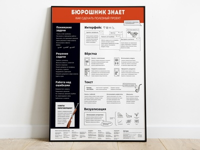 "Poster ""Codex Bureau"" for Artem Gorbunov Design Bureau"