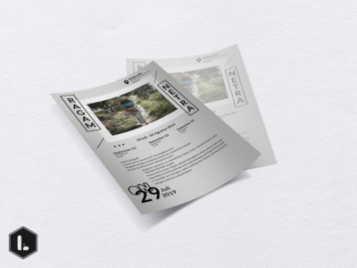 Ragam Netra - flyer design for photo exhibition