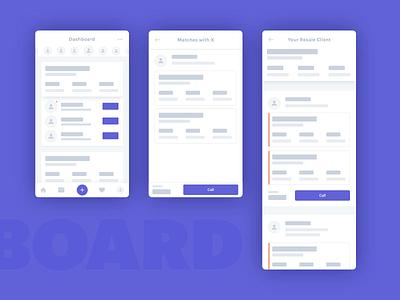 Alternative app dashboard dashboard wireframe ux ux design mobile app minimal