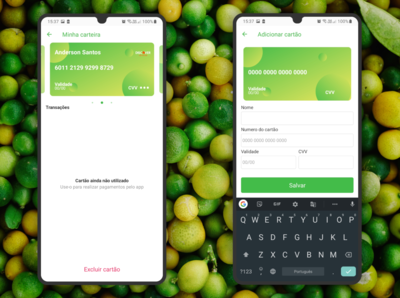 Visual Green App Wallet
