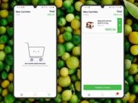 Visual Green App Shopping Cart