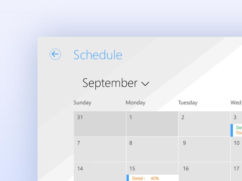 Winboats retail app design calendar design adobe illustrator windows ux design visual design adobe photoshop windows surface app tablet app app design windows 8.1