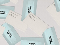 Short Monday Business Cards